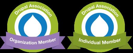 Organization and Individual Member badges