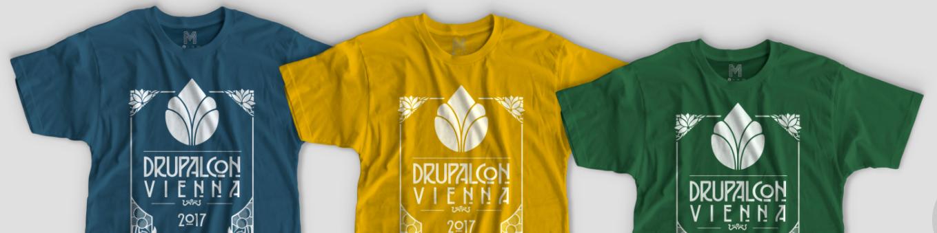 DrupalCon Vienna T-shirts