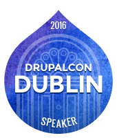 I'm speaking | Drupalcon Dublin 2016